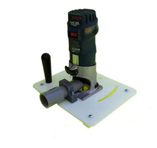 Otter small tool Reversible Router Table luthier model maker